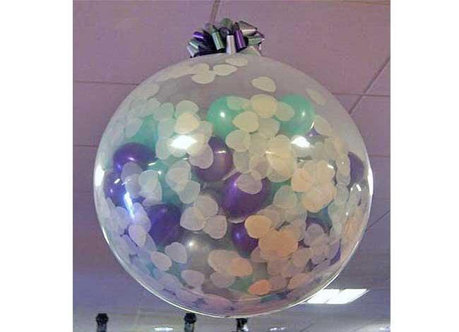Как сделать шар в шаре в домашних условиях
