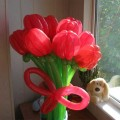 Букет из Шаров - тюльпаны