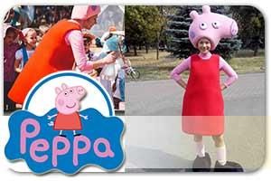 Аниматоры на детский праздник в Киеве - Свинка Пеппа