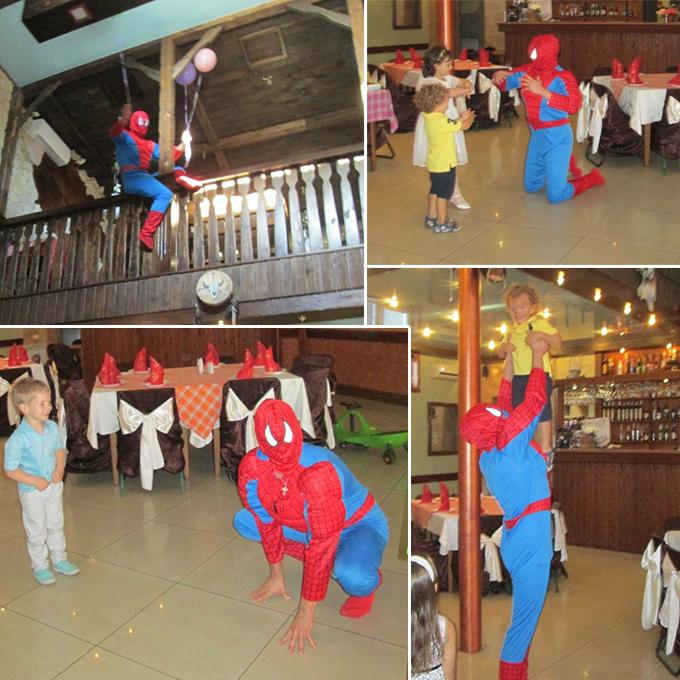 человек-паук аниматор киев