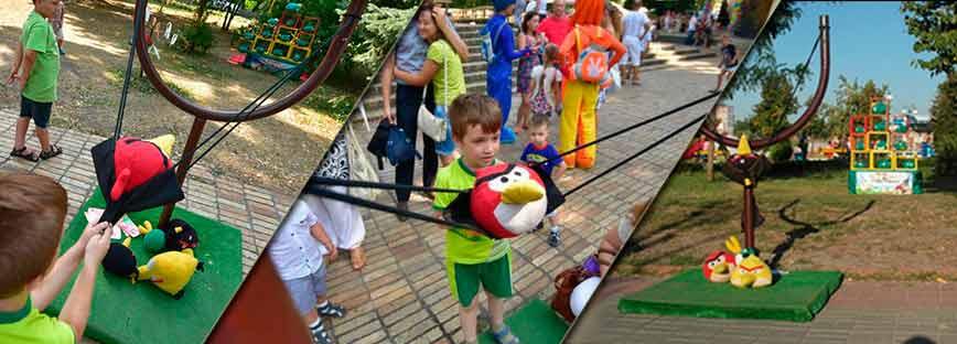 Аттракцион Angry Birds в Киеве