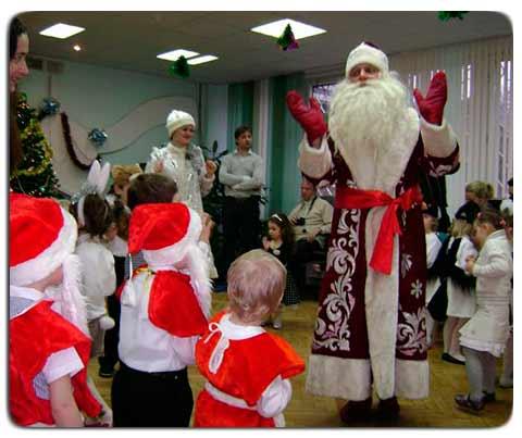 Заказать Деда Мороза на детский праздник