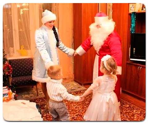 Заказать Деда Мороза на Дом Киев
