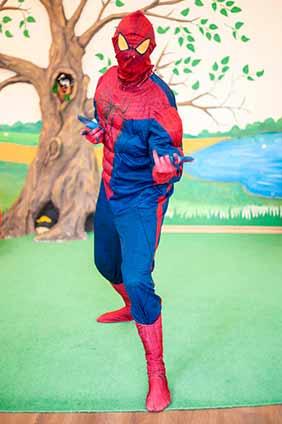 человек-паук аниматор заказать