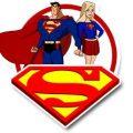 Аниматоры Супермен и Супергёрл